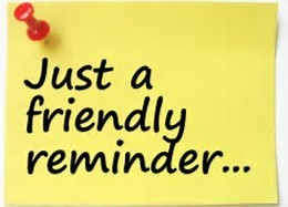 GTTM Reminder